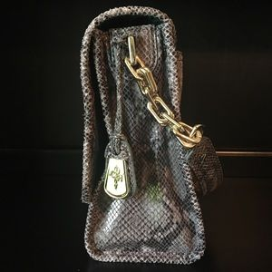 Cole Haan Bags - Cole Haan Python Print Leather Purse